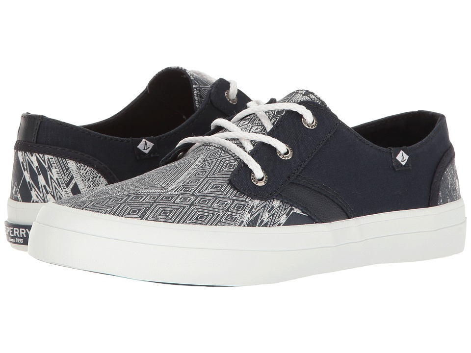 Sperry - Crest Rider Native (Navy/White) Women's Lace up casual Shoes