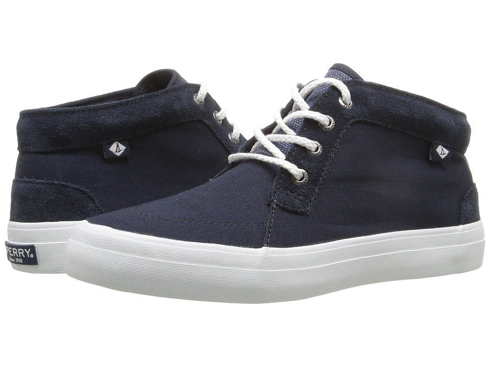 Sperry - Crest Knoll Canvas (Navy) Women's Lace up casual Shoes