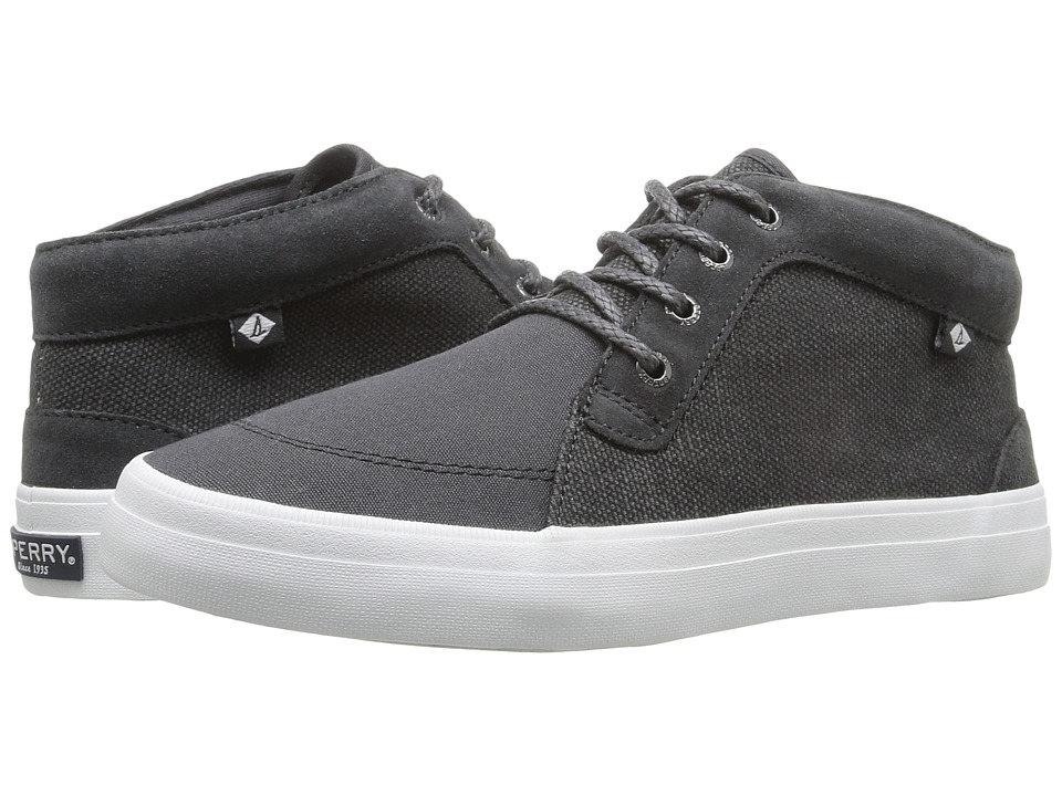 Sperry - Crest Knoll Canvas (Dark Grey) Women's Lace up casual Shoes