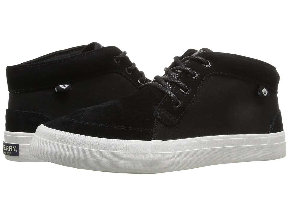 Sperry Crest Knoll Suede (Black) Women