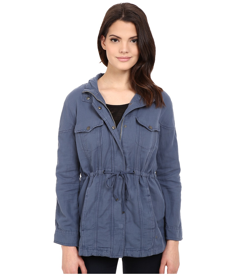 Calvin Klein Jeans - Trucker Utility Jacket (Midnight Oil) Women's Coat