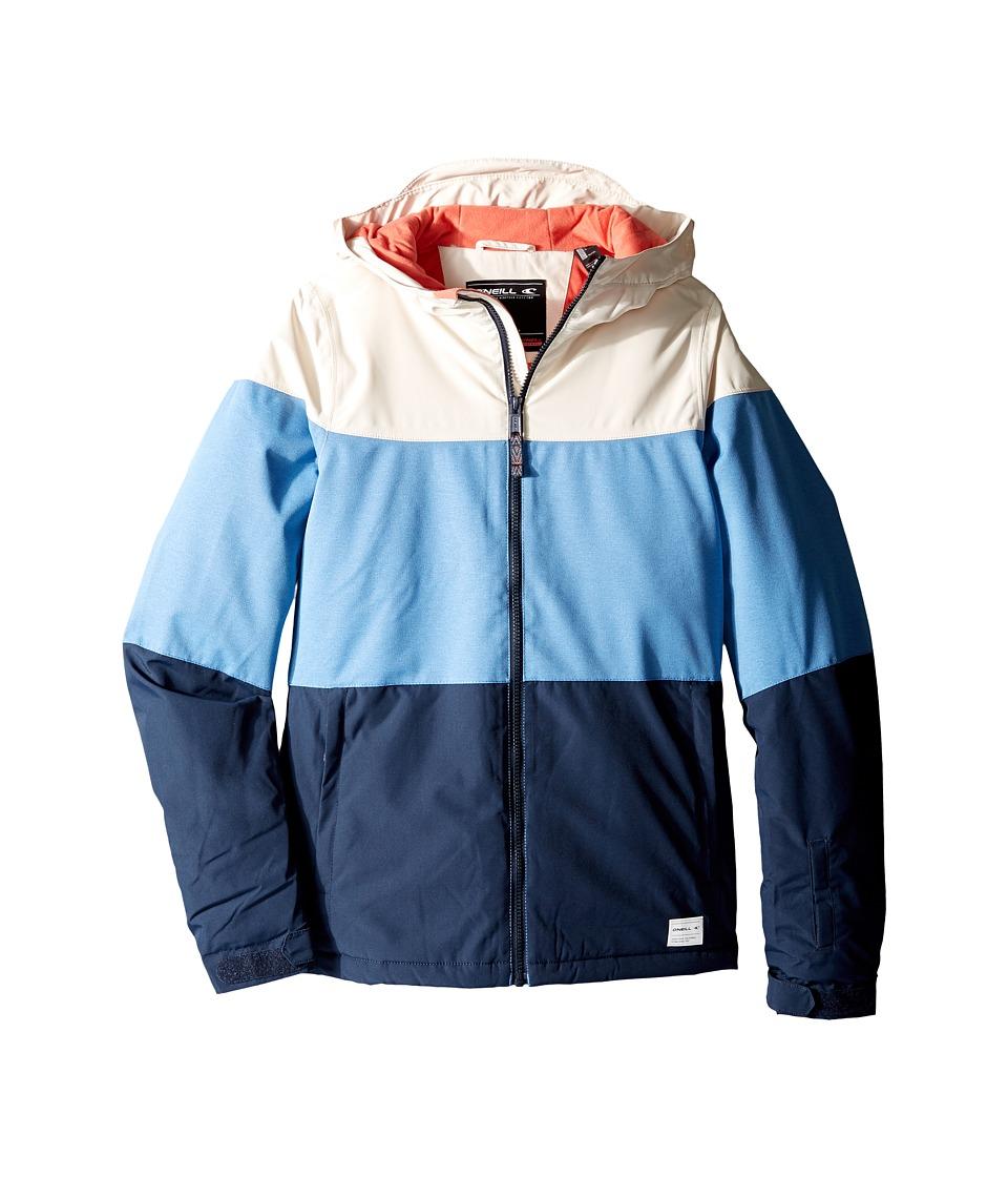 O'Neill Kids - Coral Jacket (Little Kids/Big Kids) (Azure Blue) Girl's Coat