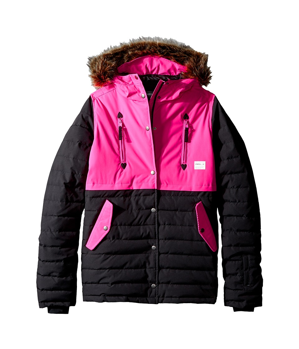 O'Neill Kids - Gemma Jacket (Little Kids/Big Kids) (Black Out) Girl's Coat