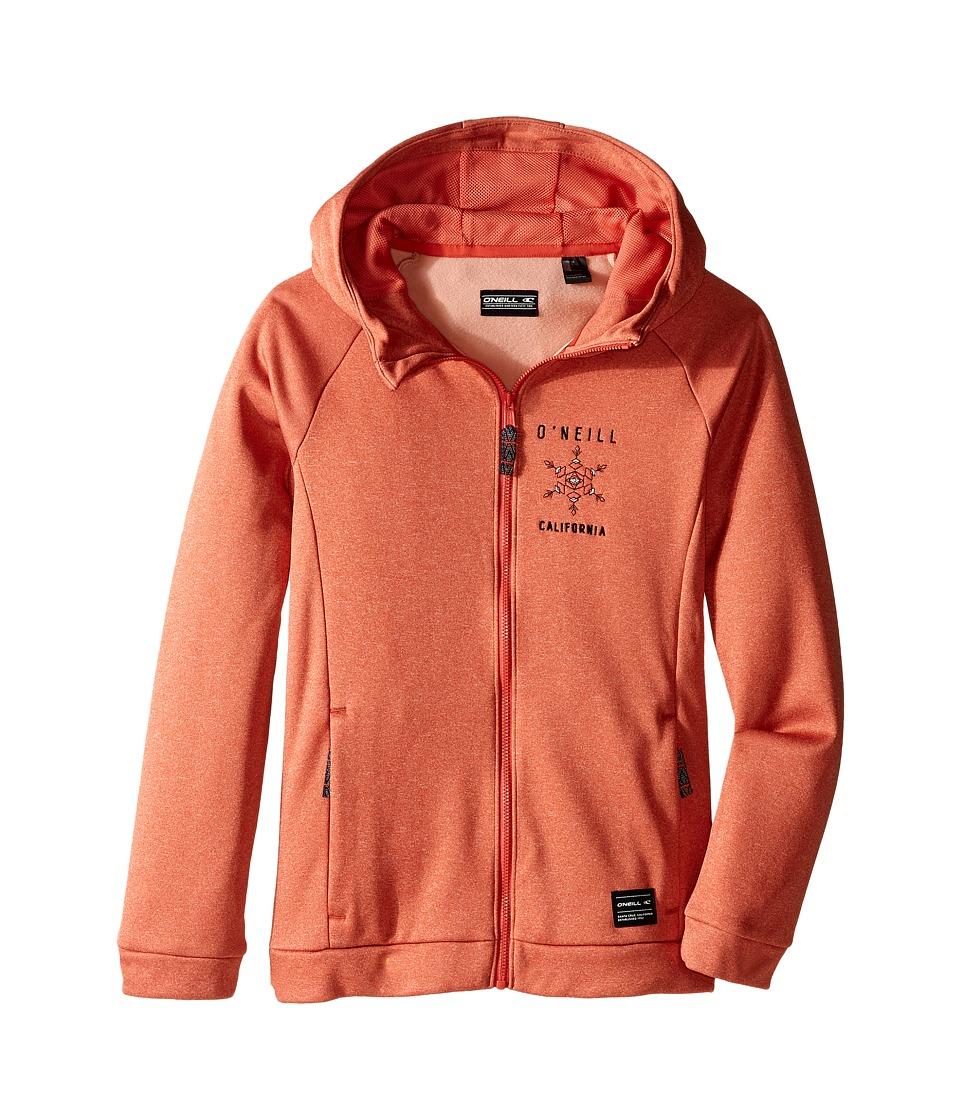 O'Neill Kids - Glamour Hoodie (Little Kids/Big Kids) (Burnt Sienna) Girl's Sweatshirt