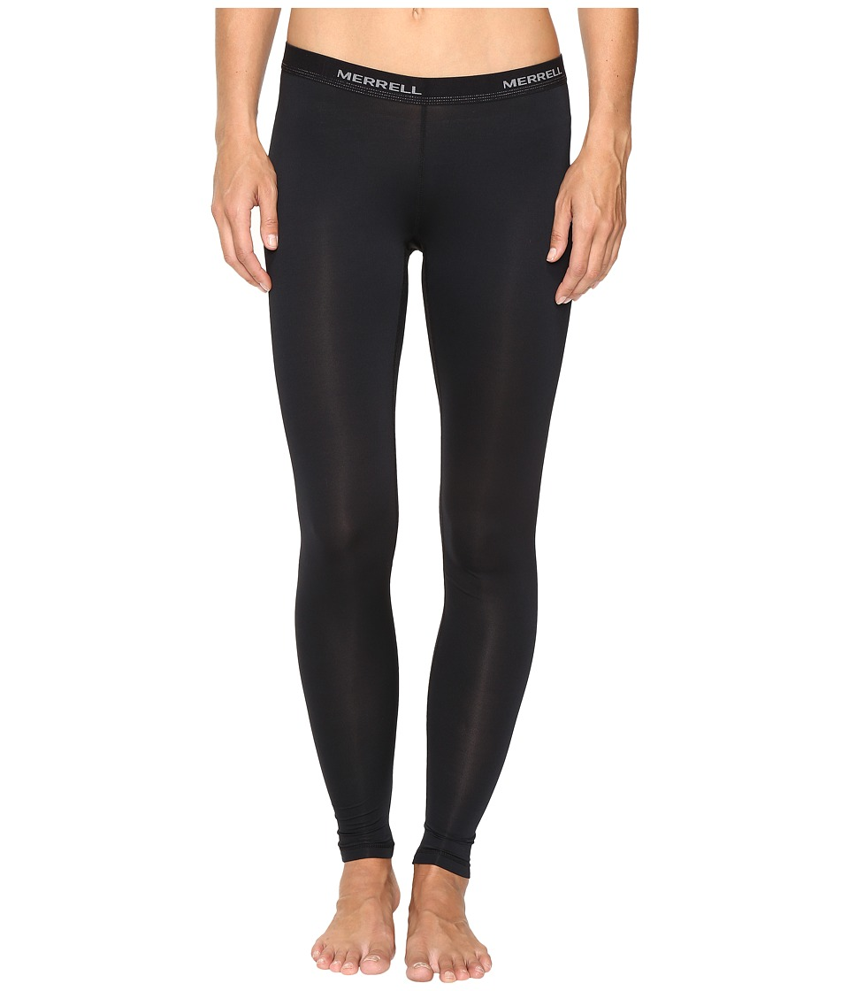 Merrell - Contour Base Layer Pants (Black) Women's Casual Pants