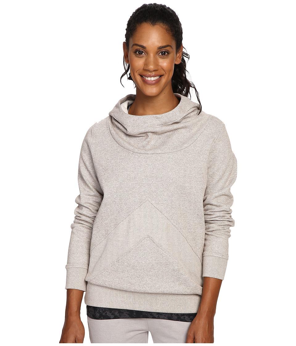 Lole - Frances Hoodie (Iron Blend) Women's Sweatshirt