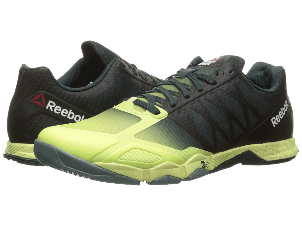 Reebok - Crossfit Speed TR (Lemon Zest/Forest Grey/Teal Dust/Black) Women's Cross Training Shoes