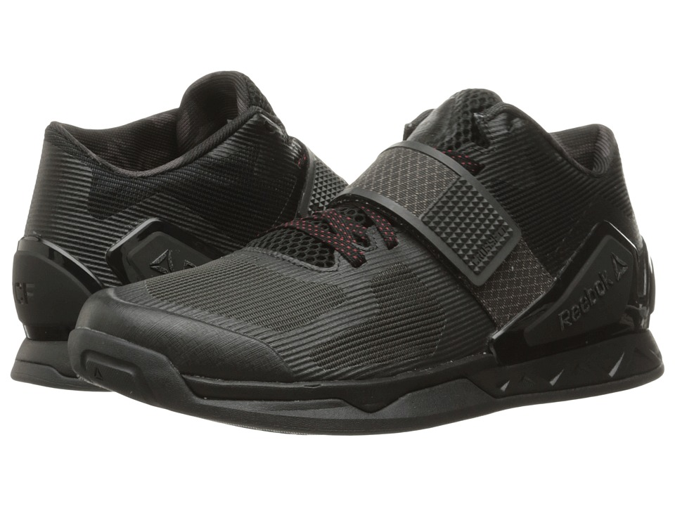Reebok - Crossfit Combine (Black/Coal/Riot Red) Women's Cross Training Shoes