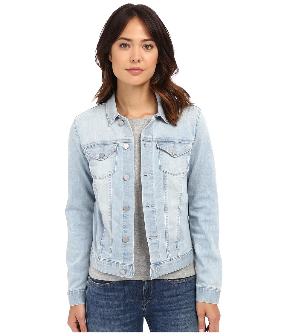 Calvin Klein Jeans - Knit Trucker Jacket (Faded Sky) Women's Coat