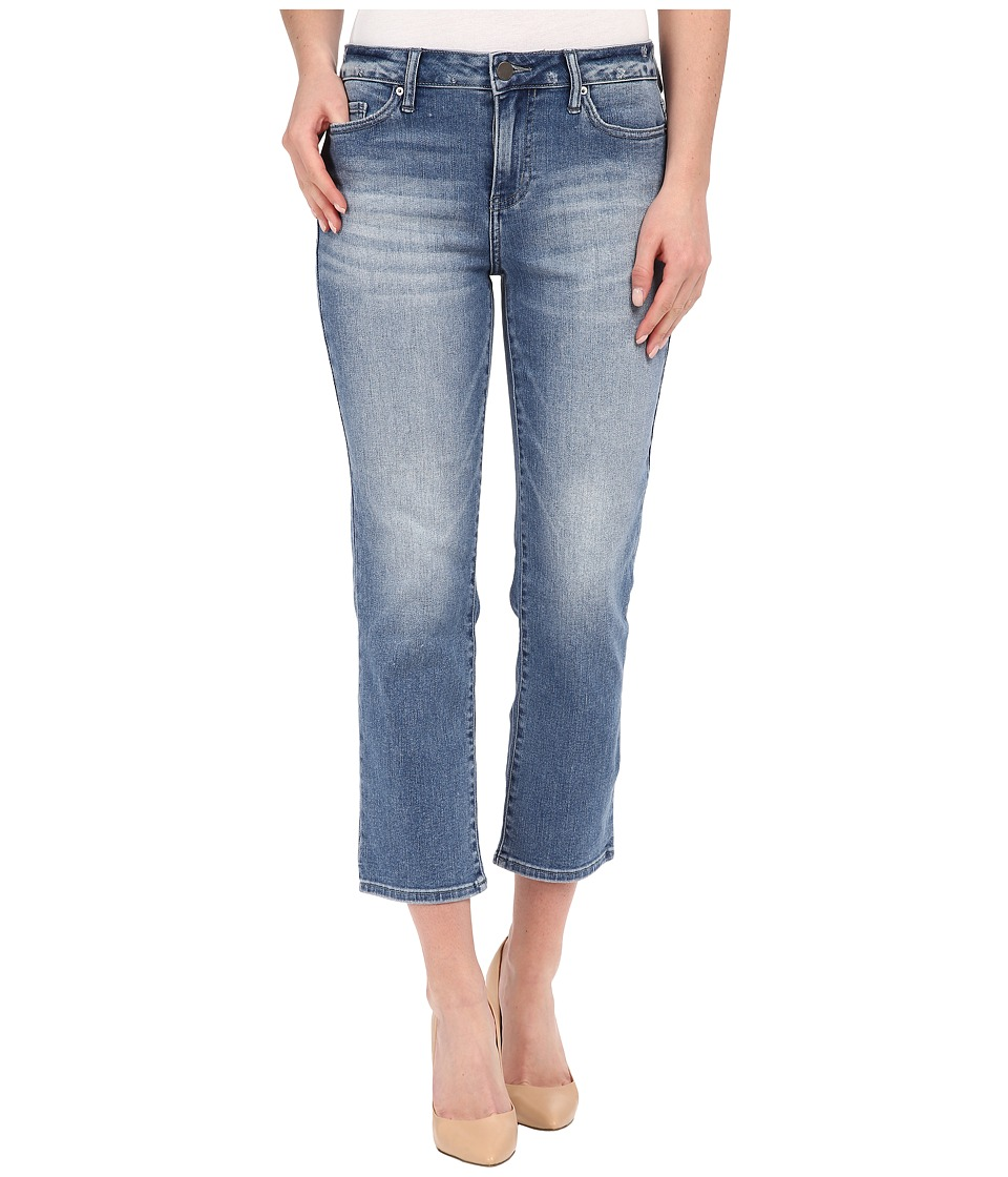 Calvin Klein Jeans - Cropped Straight Jeans in Authentic Blue (Authentic Blue) Women's Jeans