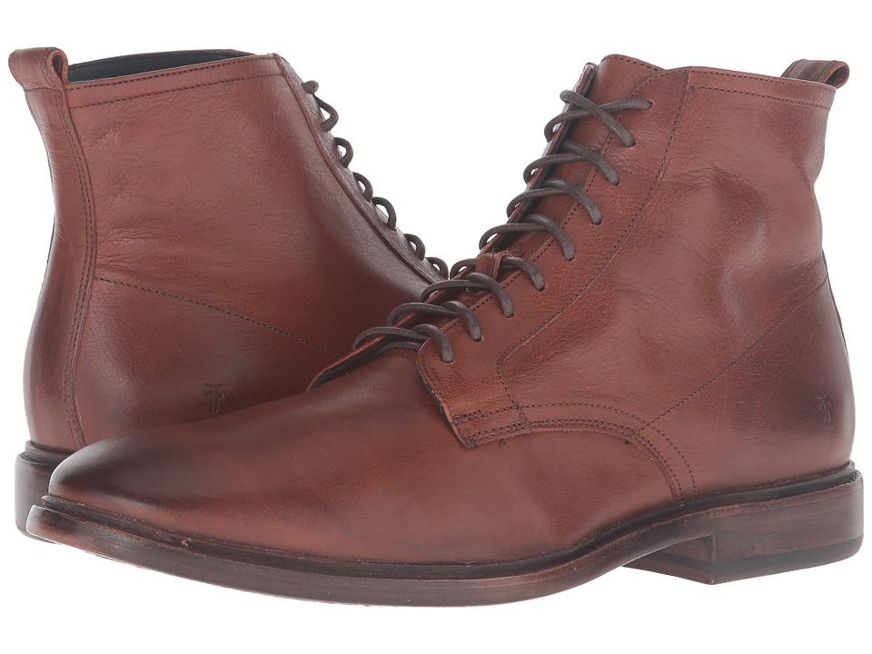 Frye - Patrick Lace-Up (Copper) Men's Shoes