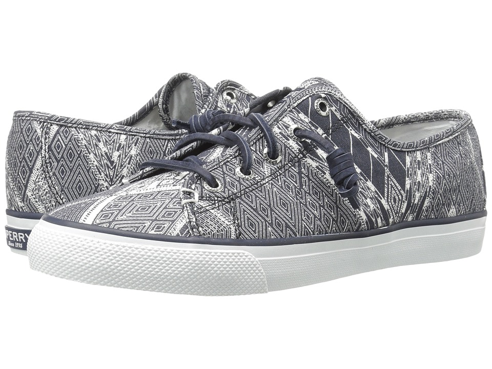 Sperry Top-Sider - Seacoast Native (Navy/White) Women's Lace up casual Shoes