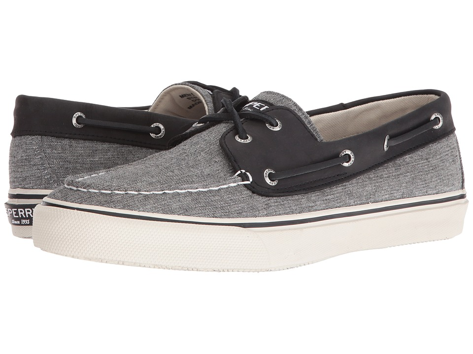 Sperry Top-Sider Bahama Chambray (Black) Men