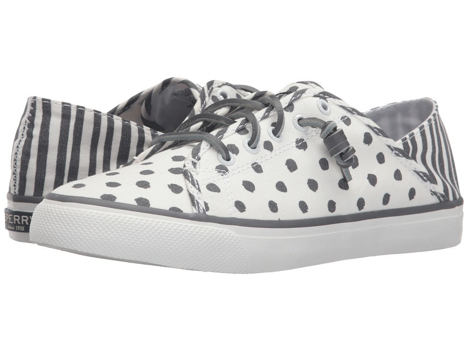 Sperry Top-Sider - Seacoast Isle Painted Dot (Medium Grey) Women's Lace up casual Shoes