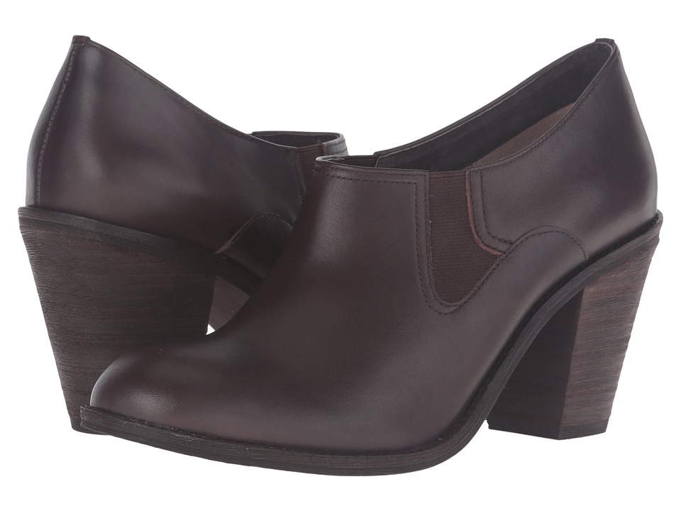 SoftWalk - Fargo (Dark Brown Smooth Leather) High Heels