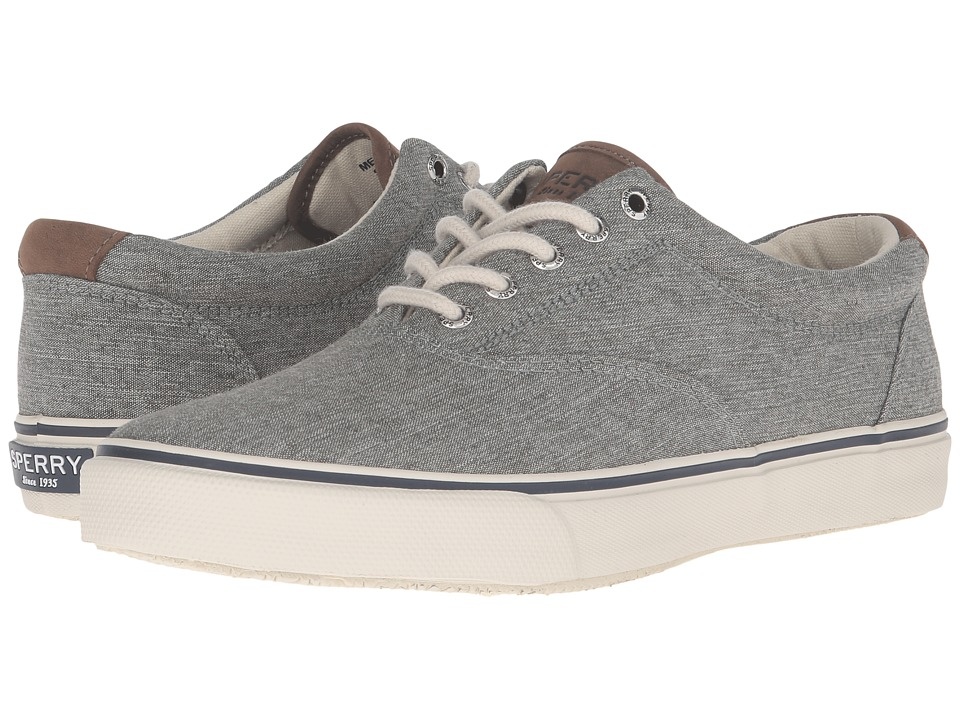 Sperry Top-Sider - Striper Chambray (Forest Green) Men's Lace up casual Shoes