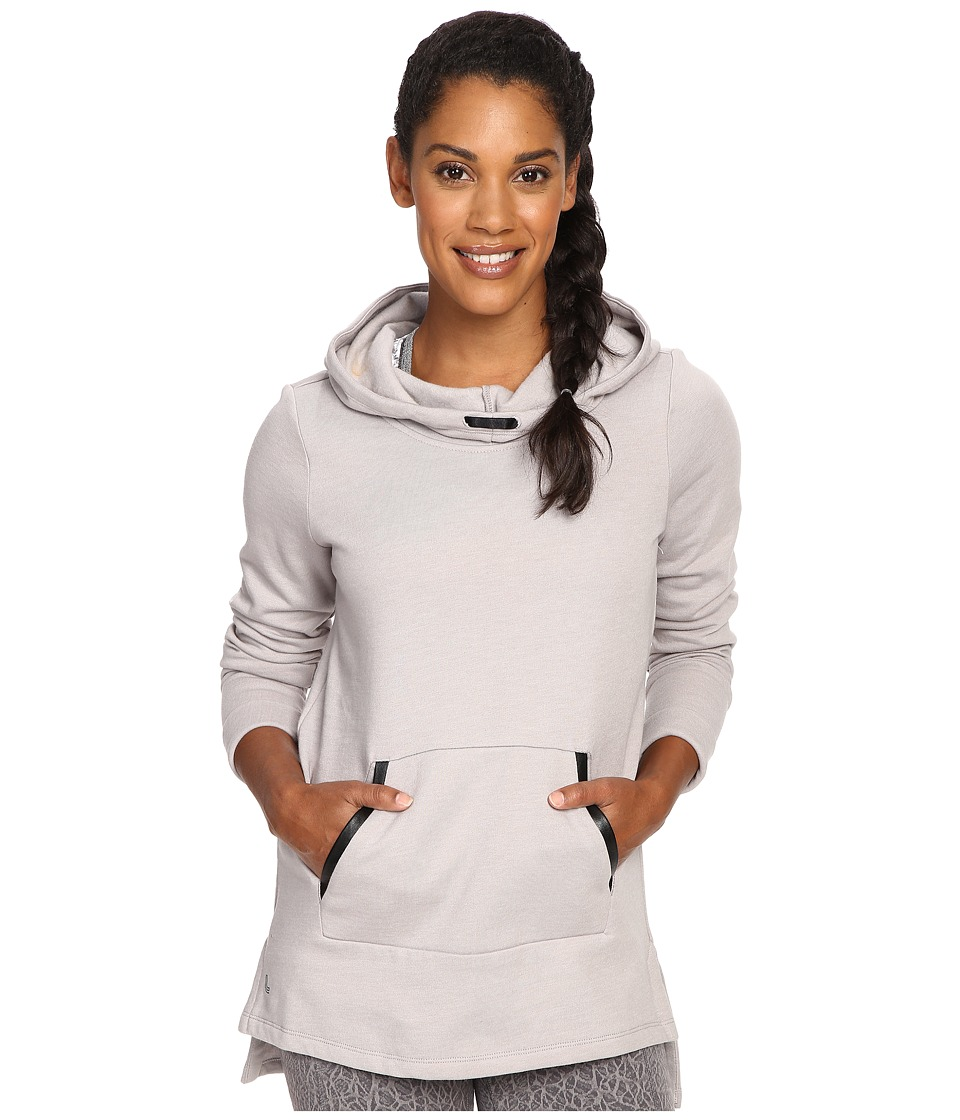 Lole - Gali Hooded Tunic (Warm Grey Heather) Women's Sweatshirt