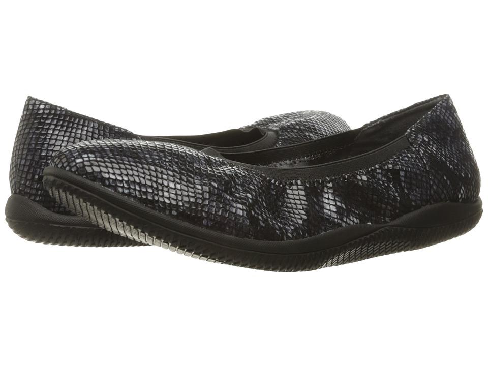 SoftWalk Hampshire (Black Python) Women