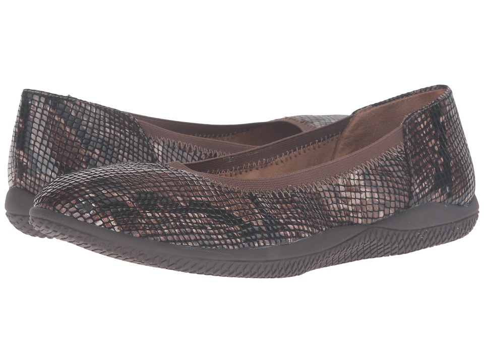SoftWalk Hampshire (Brown Python) Women