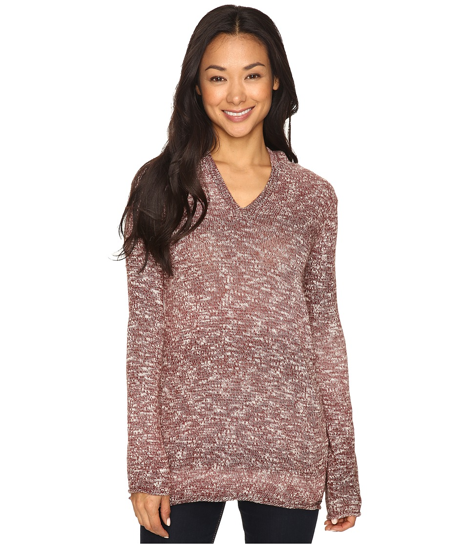 Prana - Gemma Sweater (Deep Marsala) Women's Sweater