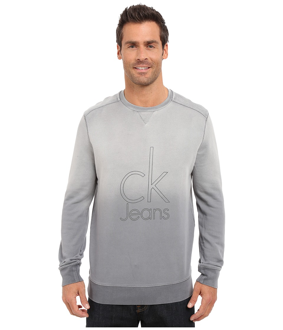 Calvin Klein Jeans - CK Jeans Indigo Crew (Platinum) Men's Sweatshirt