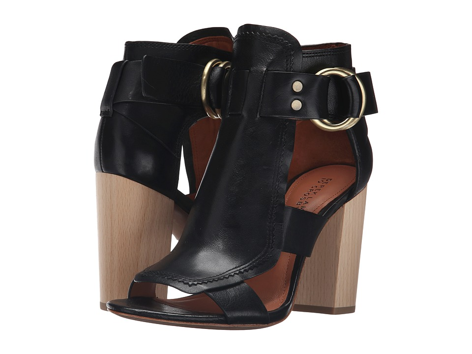 10 Crosby Derek Lam Marya (Black Tumbled Vacchetta) Women