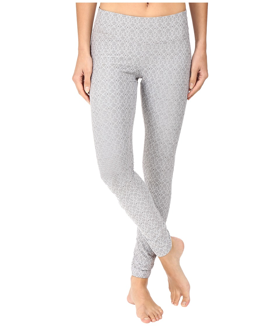 Prana - Misty Legging (Silver Jacquard) Women's Workout