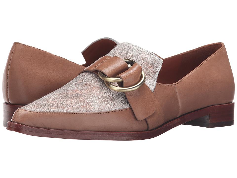 Image of 10 Crosby Derek Lam - Agatha Too (Taupe Calf Natural Melange Haircalf) Women's Shoes