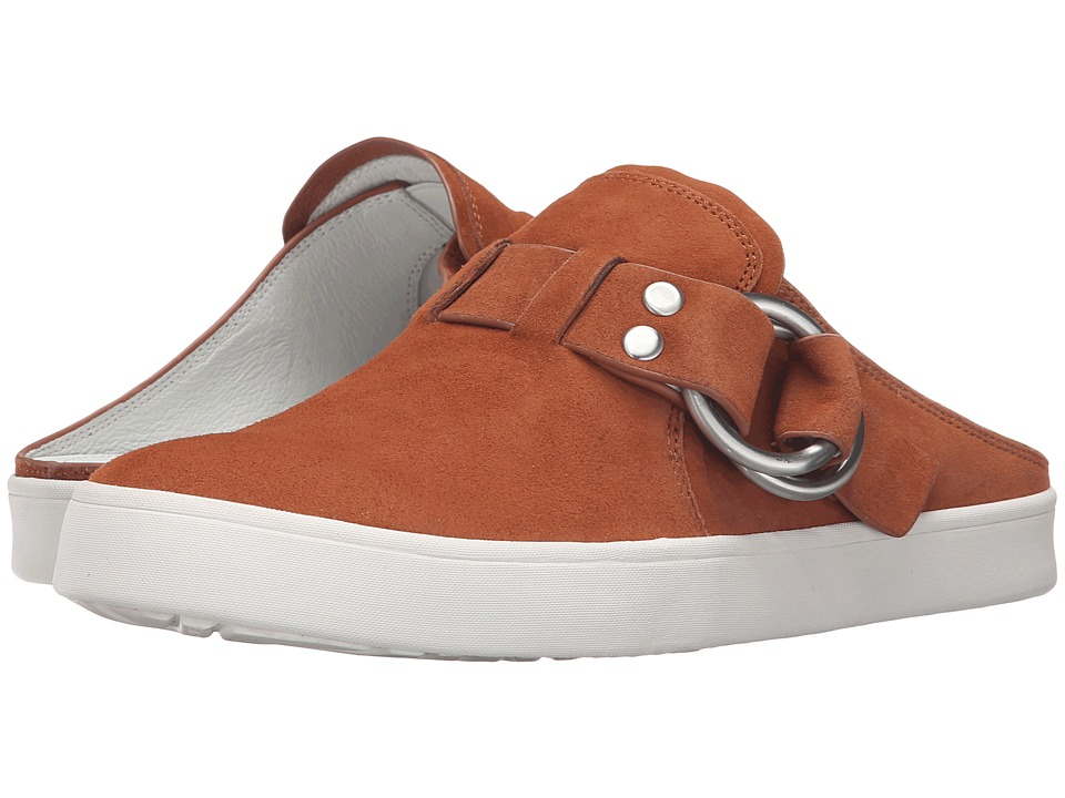 10 Crosby Derek Lam - Leneya (Rust Cow Suede) Women's Shoes