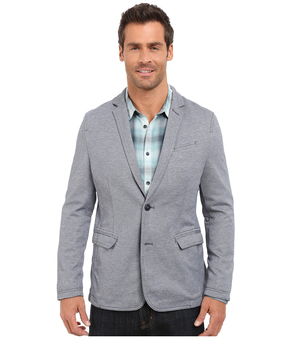 Calvin Klein Jeans - Pique Blazer (Night Sky Heather) Men's Jacket