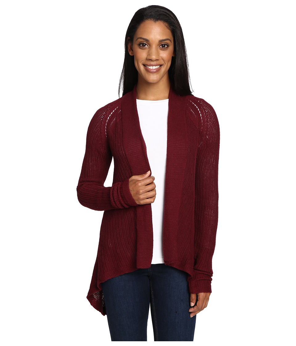 Prana - Diamond Sweater (Burgundy) Women's Sweater