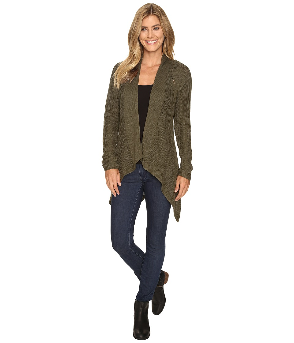 Prana - Diamond Sweater (Cargo Green) Women's Sweater