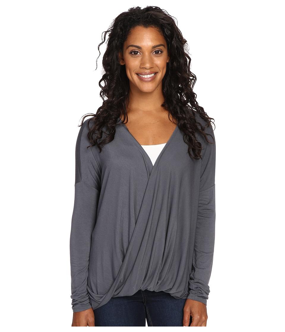 Prana - Cascade Top (Coal) Women's Clothing