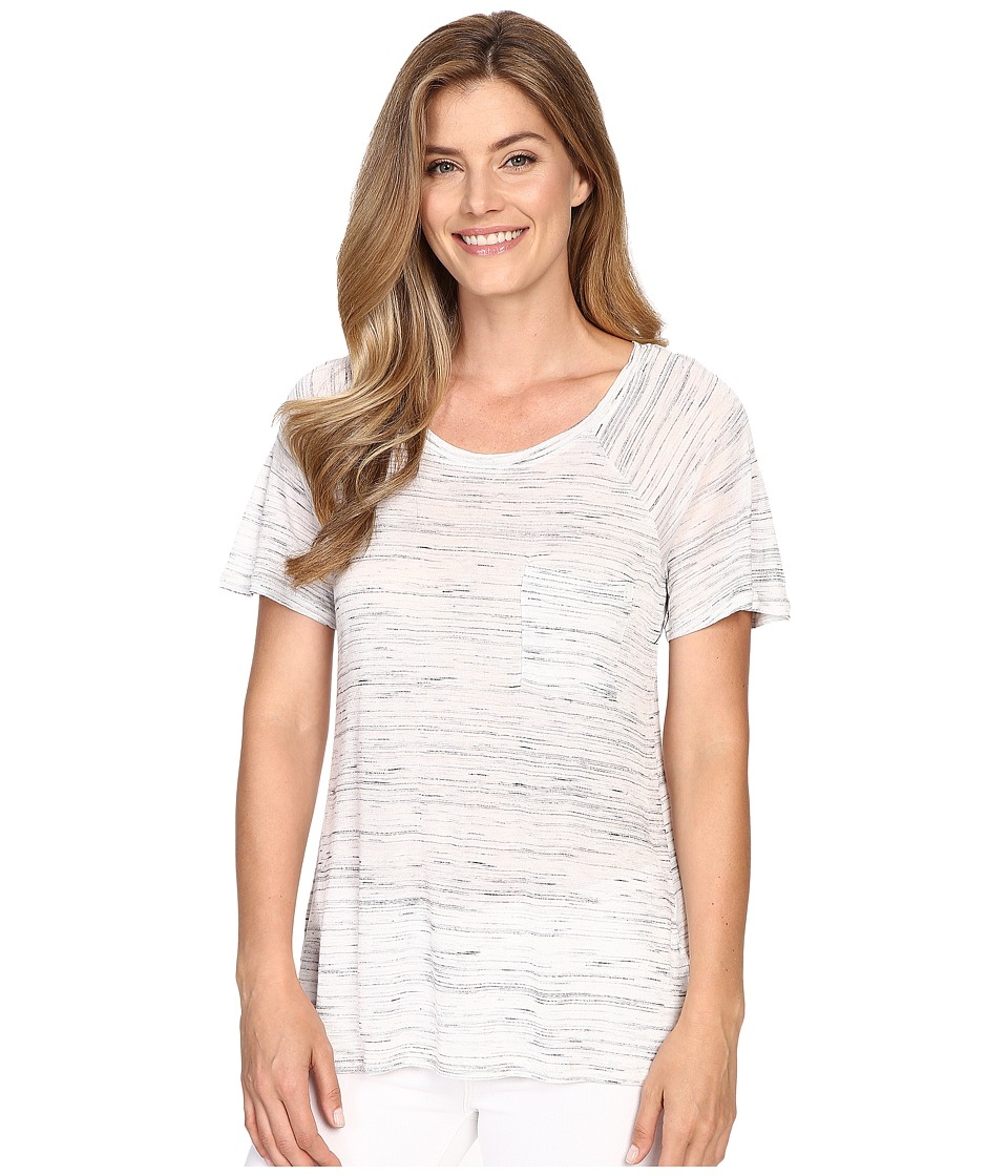 Calvin Klein Jeans Short Sleeve Fleck Raglan Tee (Gardenia) Women