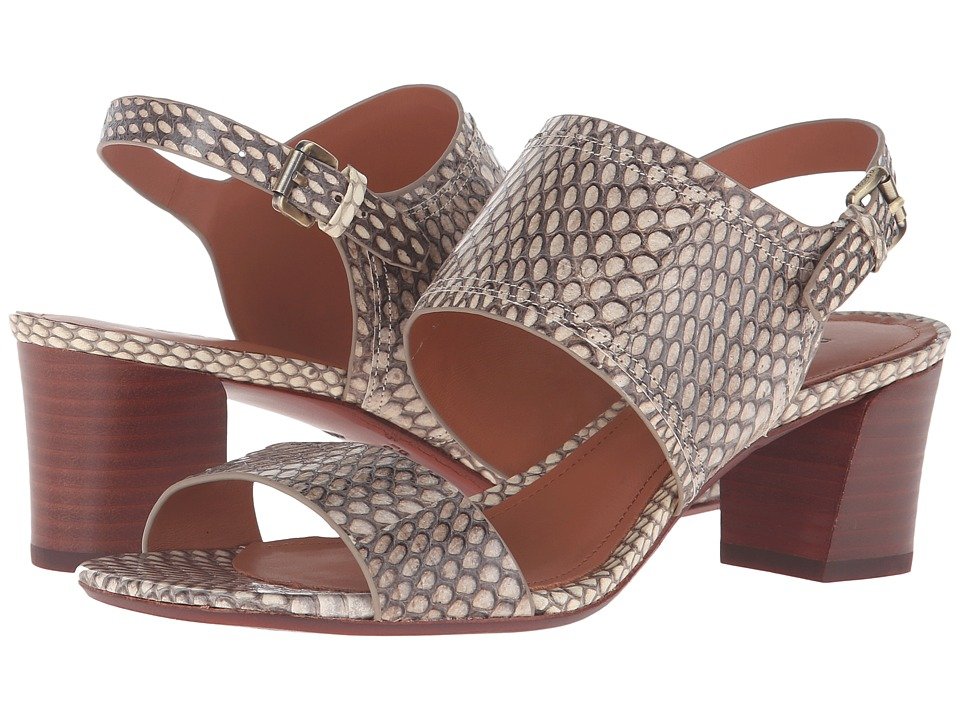 10 Crosby Derek Lam - Wynne (Natural Watersnake) Women's Shoes