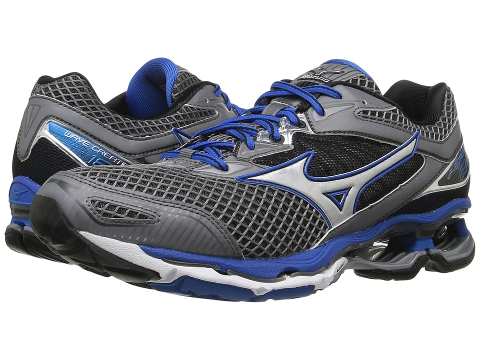 Mizuno - Wave Creation 18 (Steel Gray/Skydiver/Silver) Men's Running Shoes