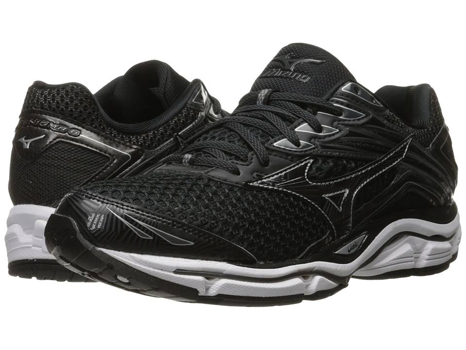 Mizuno - Wave Enigma 6 (Black/Dark Shadow/Silver) Men's Running Shoes