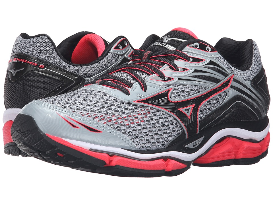 Mizuno - Wave Enigma 6 (Quarry/Diva Pink/Black) Women's Running Shoes