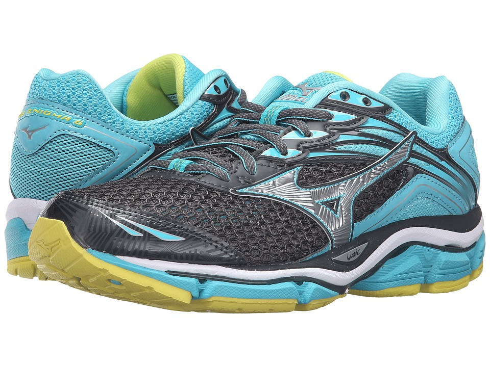 Mizuno - Wave Enigma 6 (Dark Shadow/Capri/Bolt) Women's Running Shoes