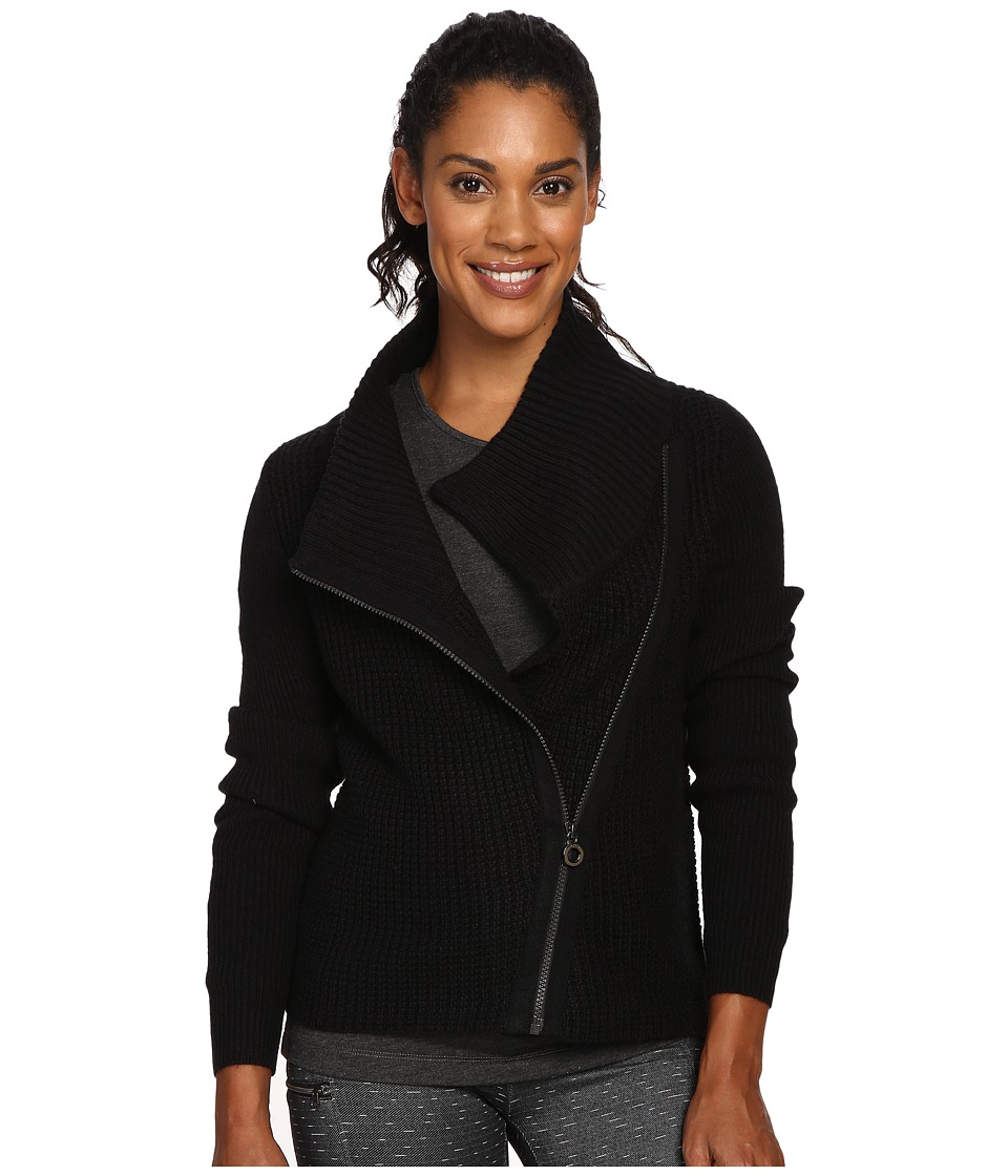 Lole - Jazlyn Cardigan (Black) Women's Sweater