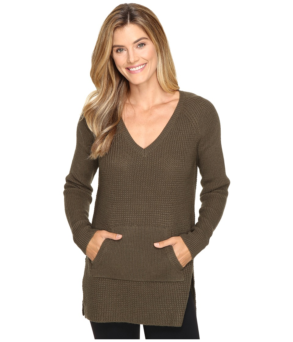 Lole - Jaden Sweater (Khaki) Women's Sweater