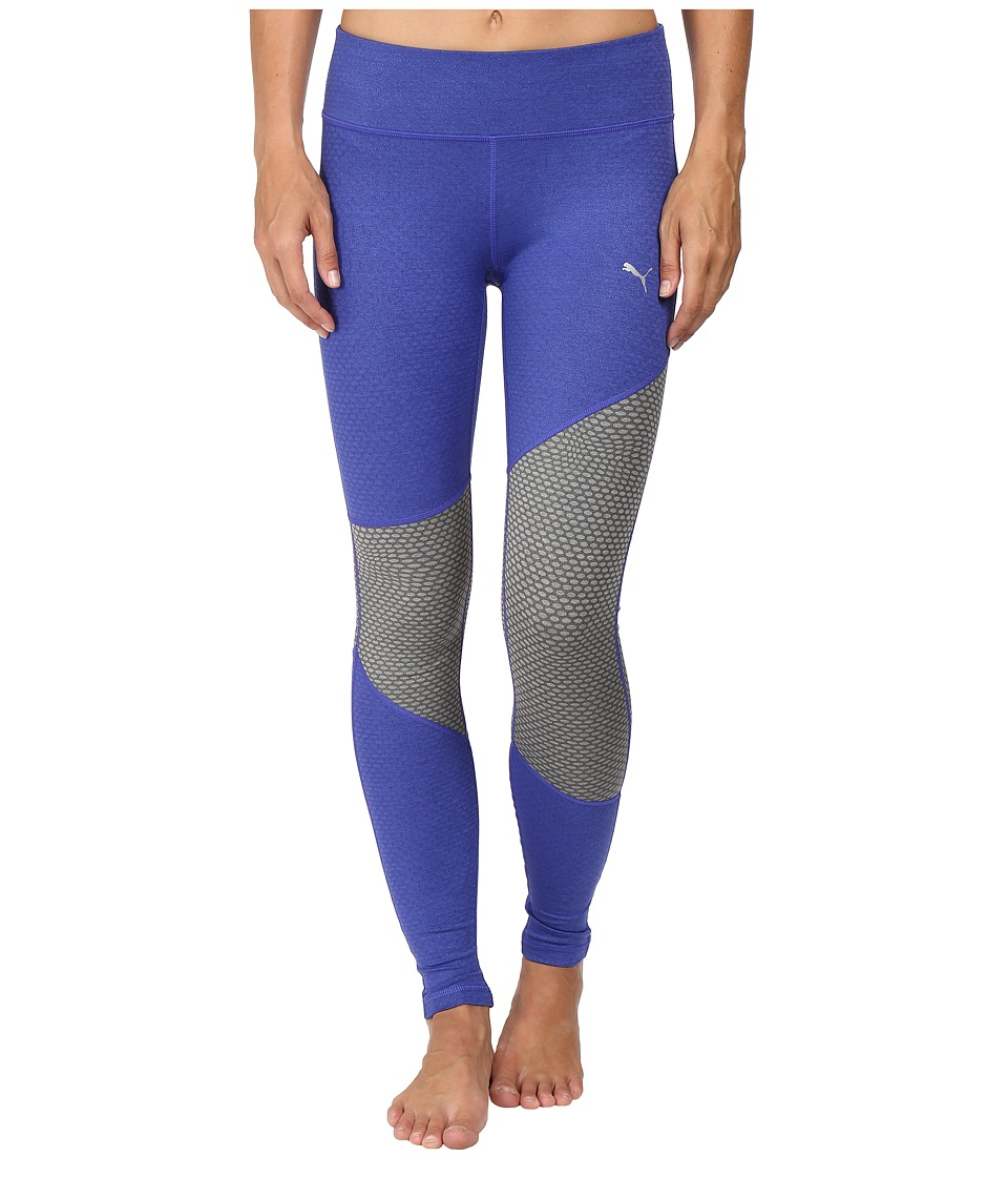 PUMA - Clash Tights (Royal Blue Heather) Women's Casual Pants