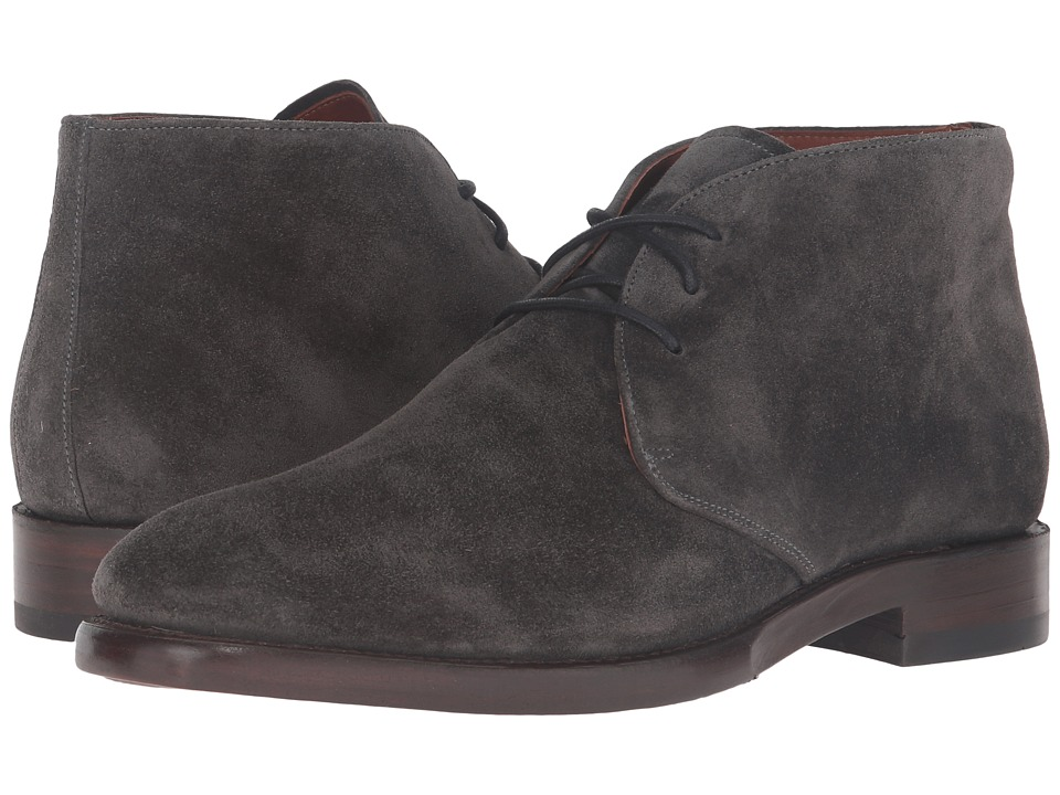 Frye - Weston Chukka (Charcoal Oiled Suede) Men's Slip on Shoes