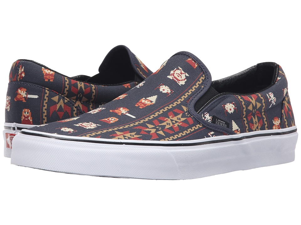 Vans - Classic Slip-On X Nintendo ((Nintendo) Zelda/Parisian Night) Skate Shoes