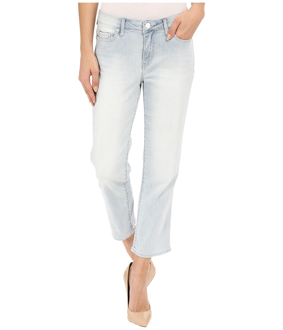 Calvin Klein Jeans - Cropped Straight Jeans in Ice Blue (Ice Blue) Women's Jeans