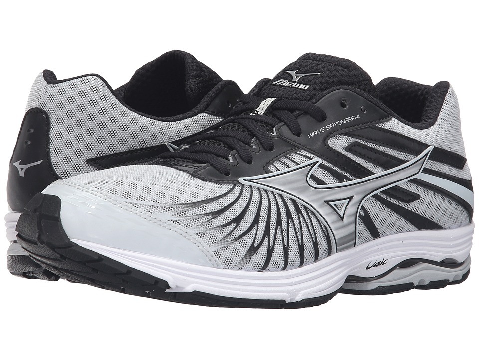 Mizuno - Wave Sayonara 4 (Quiet Shade/Black/Silver) Men's Running Shoes