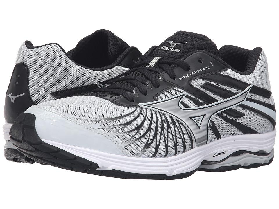 Mizuno - Wave Sayonara 4 (Quiet Shade/Black/Silver) Men's Running Shoes