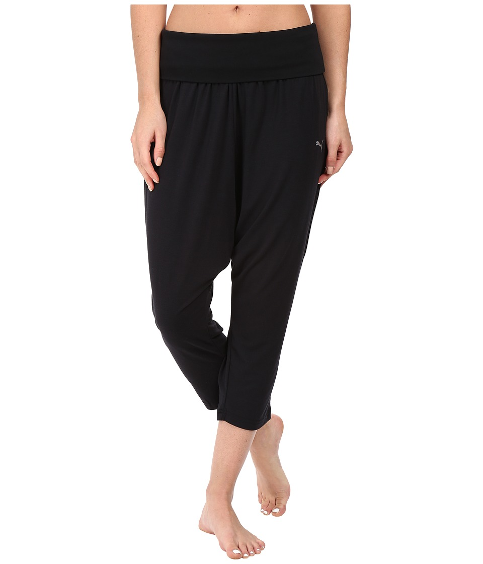 PUMA - Dancer Drapey 3/4 Pants (PUMA Black) Women's Casual Pants