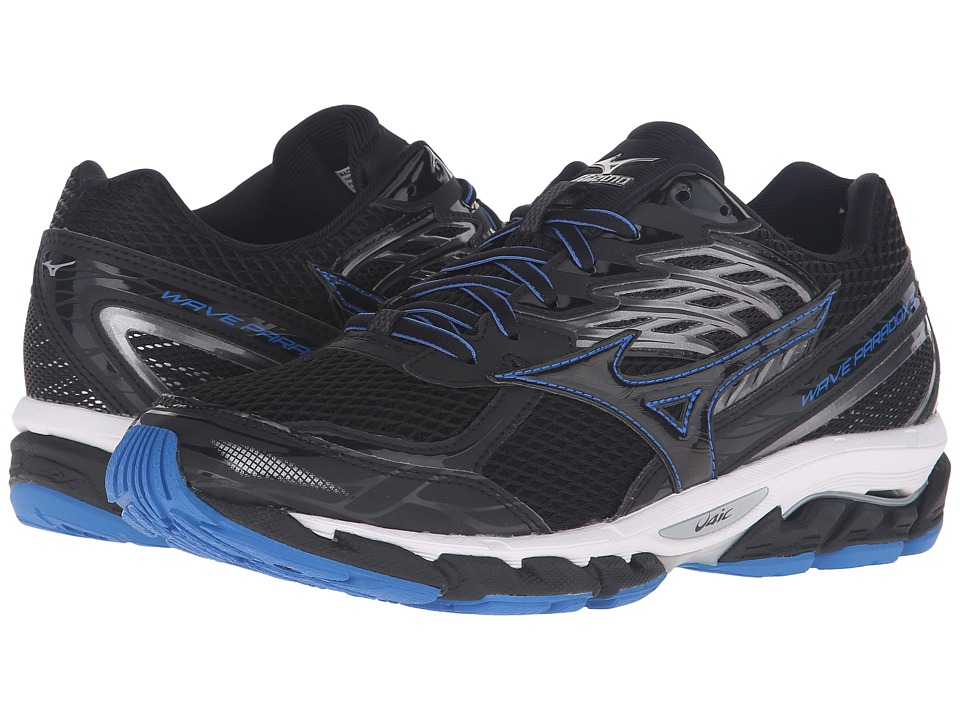 Mizuno - Wave Paradox 3 (Black/Skydiver/White) Men's Running Shoes