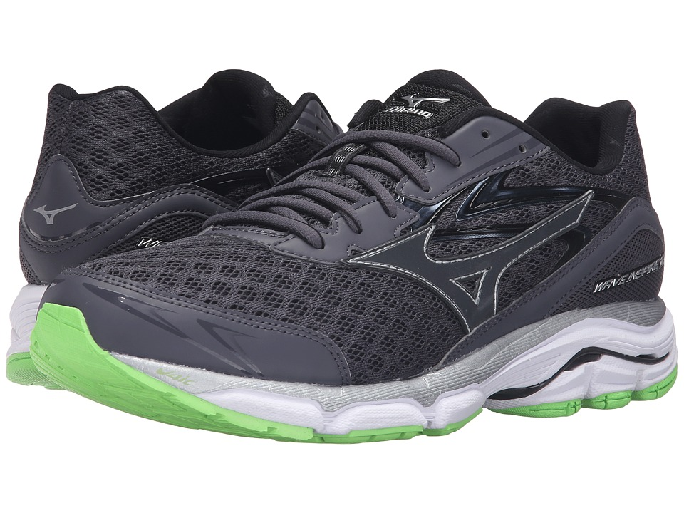 Mizuno - Wave Inspire 12 (Periscope/Green Gecko/White) Men's Running Shoes